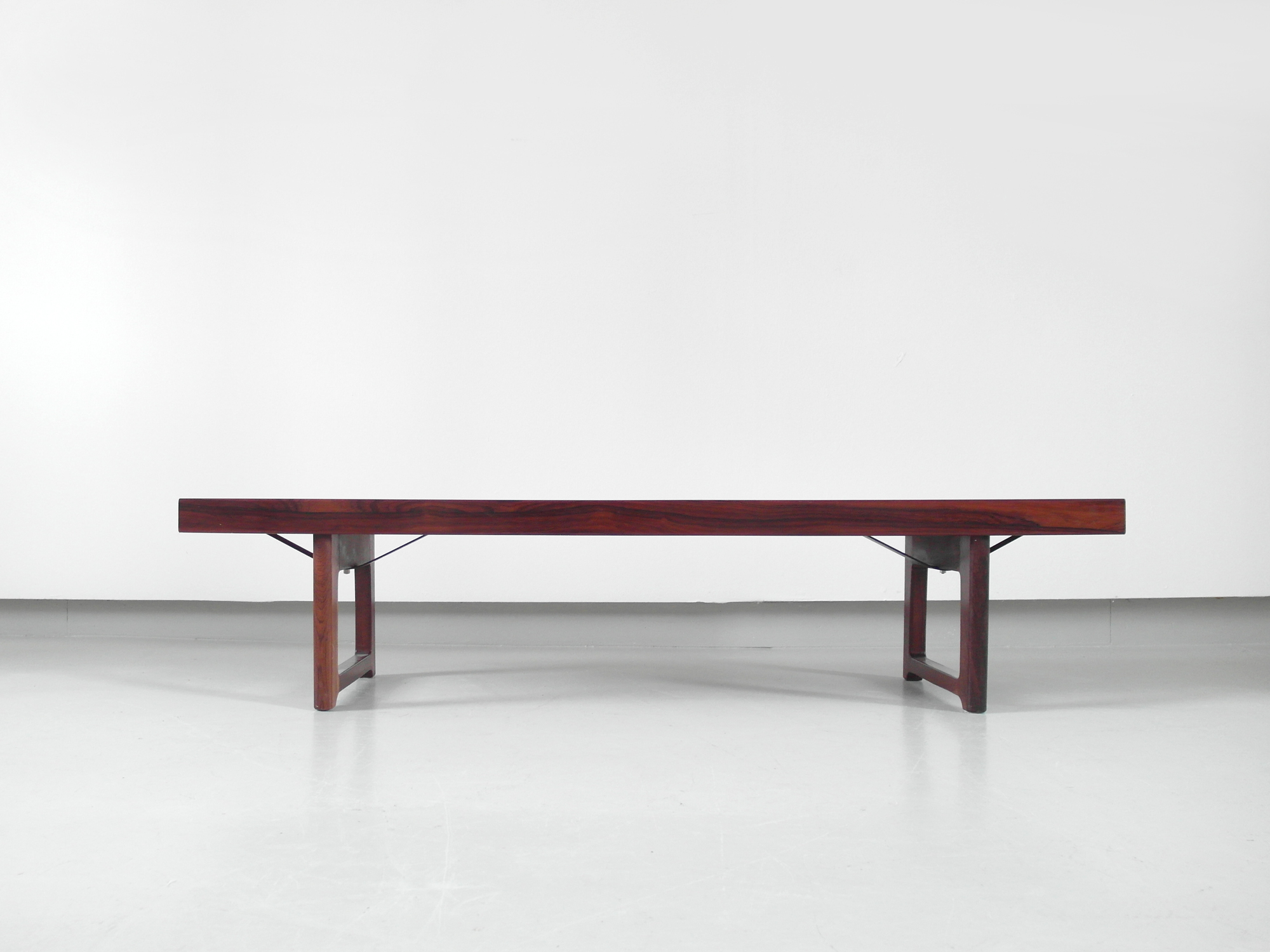 Krobo Bench Side Table By Torbjorn Afdal For Bruksbo Norway 1960